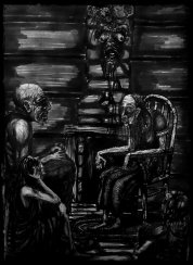 They brought Gran down from out of the mountain's depths for a visit. She hardly spoke, but when she did you listened. For a woman who'd never had eyes, Gran McCoil could spin a story that'd haunt your sleep with the most vivid nightmares.